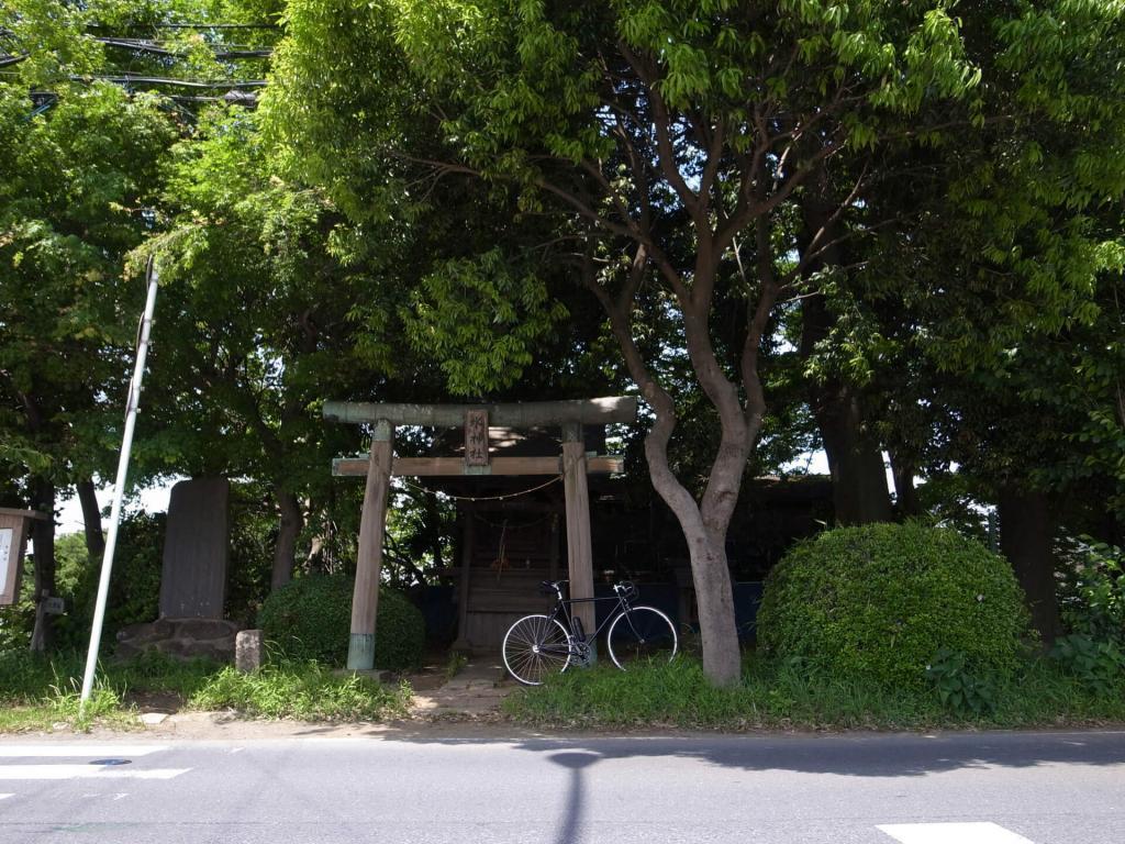 芝川CR 水神社