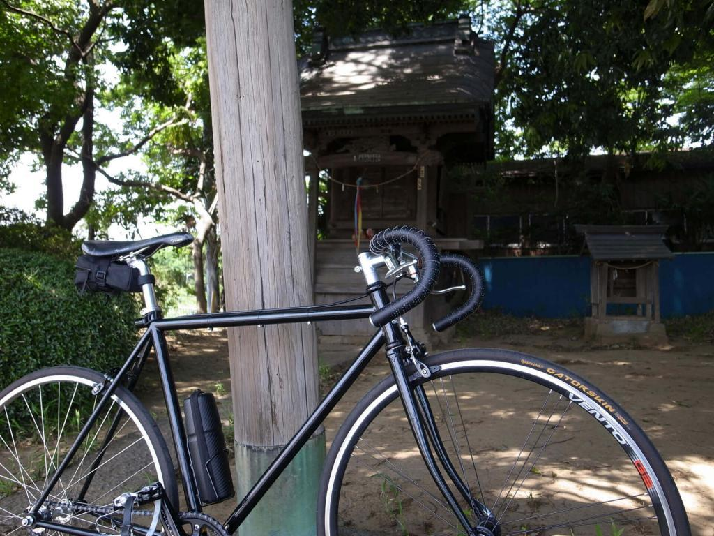 steamroller at 水神社